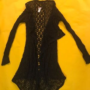 Mossimo cardigan lace size small